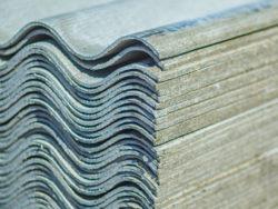 Wellasbestplatten das bekanntest Produkt mit Asbest